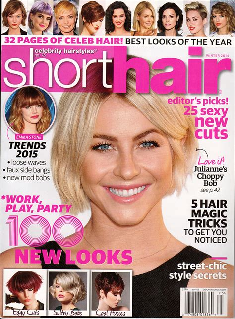 cover of short hair style guide magazine short haircuts magazine 2017 2018 best cars reviews