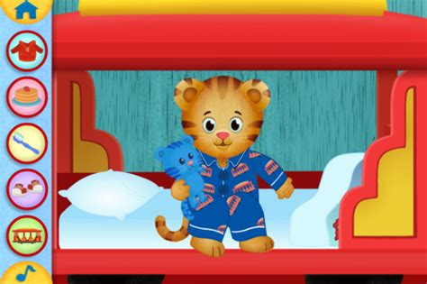 new daniel tiger day and night app benspark family
