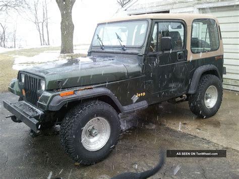 1995 Jeep Wrangler Grande 1995 Jeep Wrangler Grande