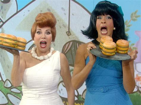 pictures of hoda and kathie lee make overs happy halloween kathie lee and hoda s flintstones