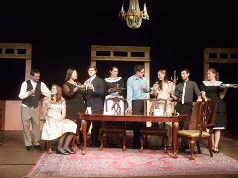 the dining room by a r gurney spring 2012 suny broome