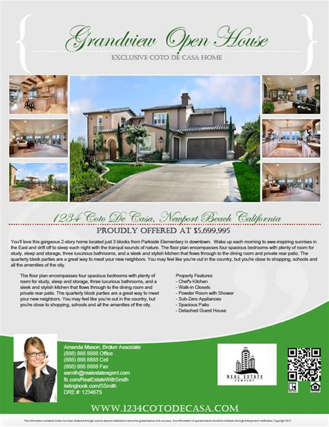 real estate flyers free templates gallery turnkey flyers