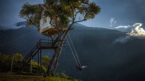 swing around the world 10 tree houses around the world you wish your parents