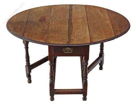 Drop Leaf Gateleg Dining Table Georgian Oak Gateleg Drop Leaf Dining Table Antiques Atlas