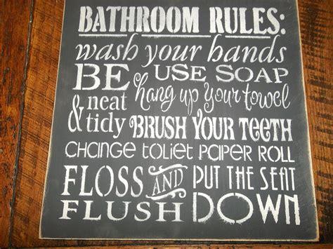 primitive bathroom signs primitive rustic farmhouse bathroom sign