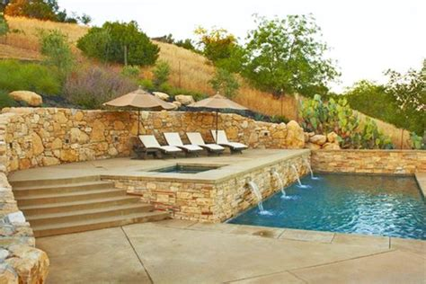 ideas for sloped lots design how to build a pool what to do with a sloped backyard