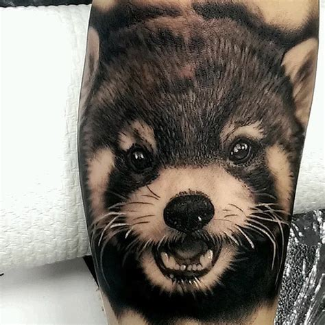red panda tattoo panda best ideas designs