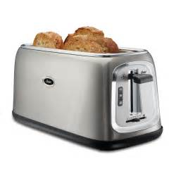 Panini Toasters Oster 174 4 Slice Long Slot Toaster Stainless Steel On Oster Com