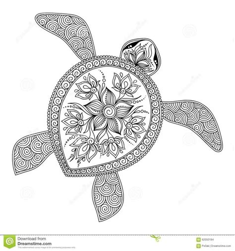 coloring pages for adults turtles 17 best images about color my world on