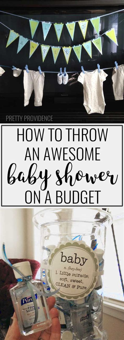 Baby Shower Ideas For Boys On A Budget by Best 25 Budget Baby Shower Ideas On Baby