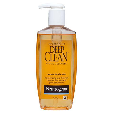 deep clean deep clean facial cleanser neutrogena 174 australia