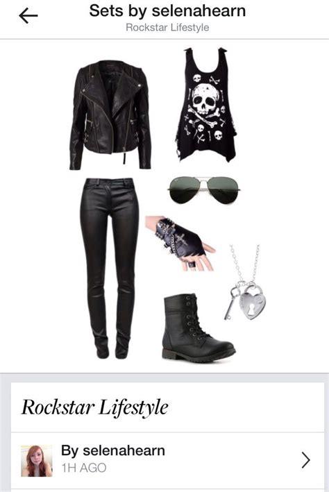 hair polyvore globezhair rock star outfit on pinterest globezhair