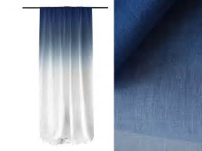blue ombre curtains ombre window curtains blue fade to white linen by