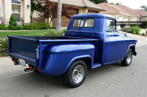 stepside bed top 1956 chevy stepside truck wallpapers