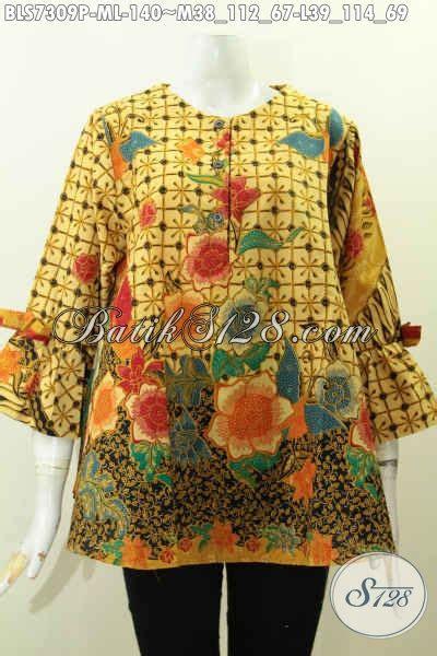 Baju Batik Bahan Katun model baju batik wanita terbaru 2018 model baju batik