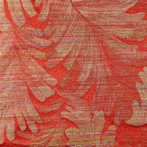 red damask upholstery fabric dark red orange damask upholstery fabric very large tan