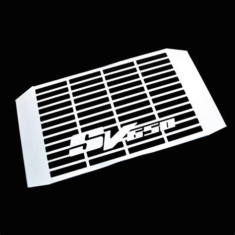 Cover Radiator Stainless Vixion suzuki sv650n 1999 2002 stainless steel radiator cover grill guard ebay