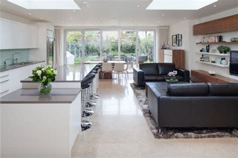 romantic stunning kitchen living room open floor plan pictures 37 stunning open plan kitchen and living area in london by