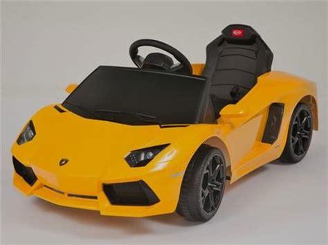 ride on licensed lamborghini aventador power remote