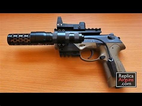 Airgun Beretta Px4 Recon 177 umarex beretta px4 recon co2 blowback airgun review