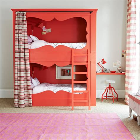 loft bedroom guest bedroom ideas housetohome co uk red and white bedroom with bunk bed bedroom decorating