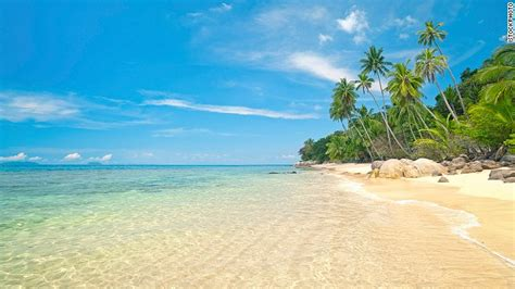 worlds 100 best beaches cnn 13 pulau perhentian kecil malaysia