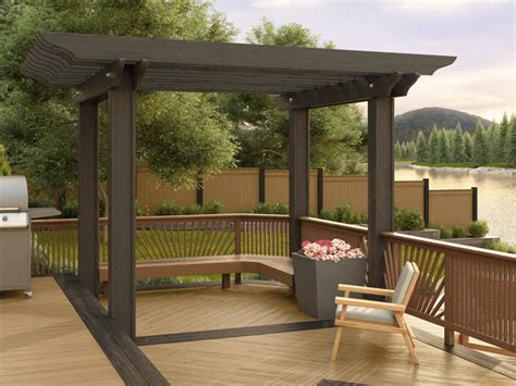 metal pergola kits lifetime lumber composite pergola kits