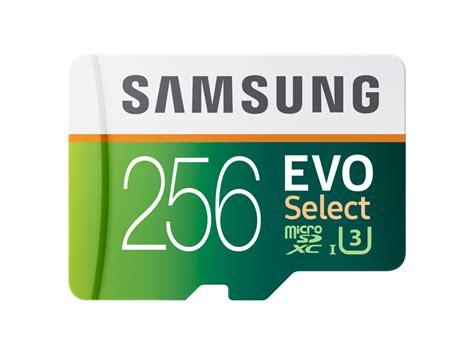 Memory Card Hp 256gb microsdxc evo select memory card w adapter 256gb memory storage mb me256da am samsung us