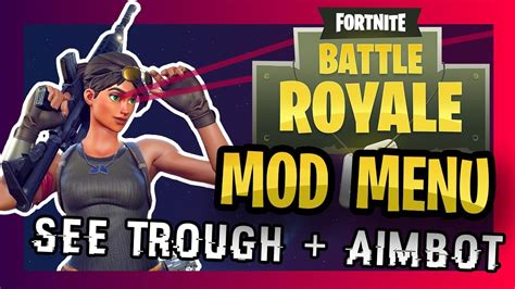 fortnite aimbot fortnite aimbot mod menu tutorial battle royale xbox