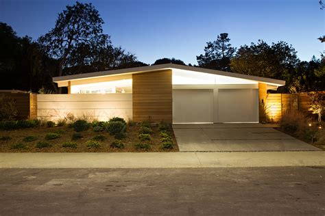 truly open eichler house renovated single family house in truly open eichler home klopf architecture archinect
