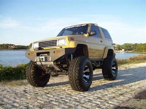 daihatsu rocky offroad daihatsu rocky history photos on better parts ltd