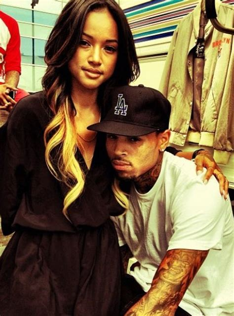 karrueche tran pregnant chris browns girlfriend preparing her life the history of chris brown and karrueche tran s