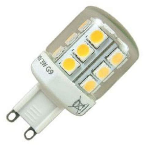 lade g9 a led g9 led 3w warm white 3000k