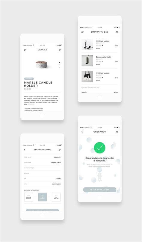 mobile user interface design best 20 mobile app ideas on app design