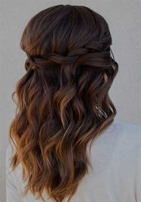 half up half down hairstyles for bridesmaids 4 good half up hairstyles for bridesmaids harvardsol com