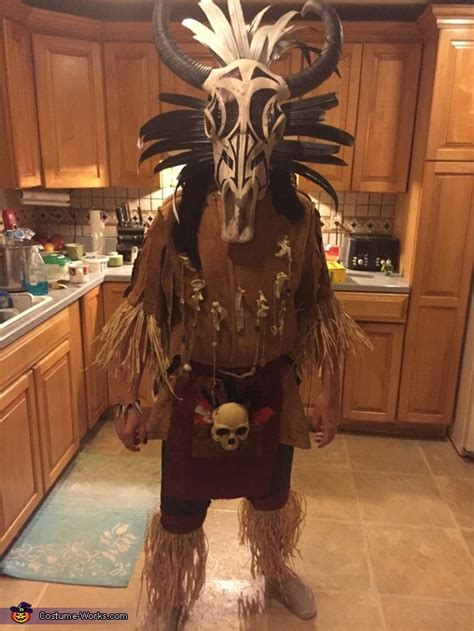 tribal warrior costume diy tutorial