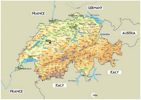 map of switzerland cities mrs world map country