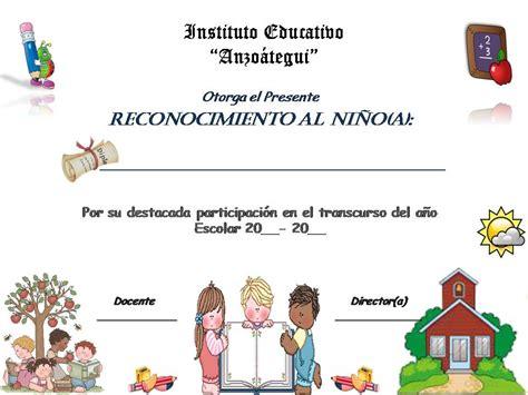 certificados a estudiantes para imprimir certificados para el dia del estudiante para imprimir