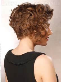 pictures of the back of curly stacked hair stacked bob hairstyles back view for curly hair