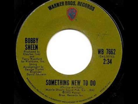 bobby sheen bobby sheen something new to do warner brothers youtube