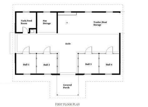 horse barn floor plans barn floor plan stall 1 retrofitted as a chicken coop 2