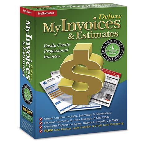 myinvoices estimates deluxe 10 avanquest