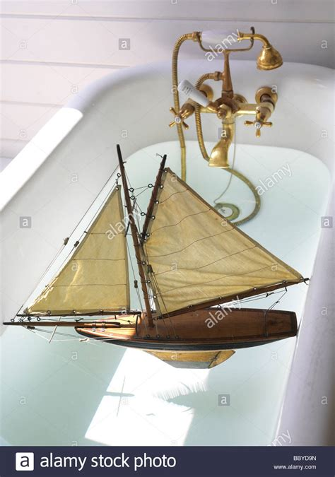 bath boat toy sailing boat in bath stock photo 24574753 alamy