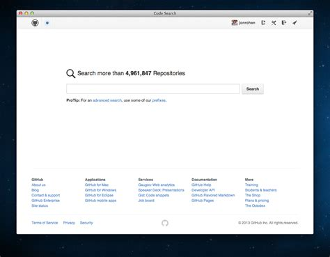 Github Search A Whole New Code Search 183 Github
