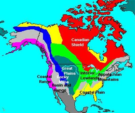 geographic regions of america map name