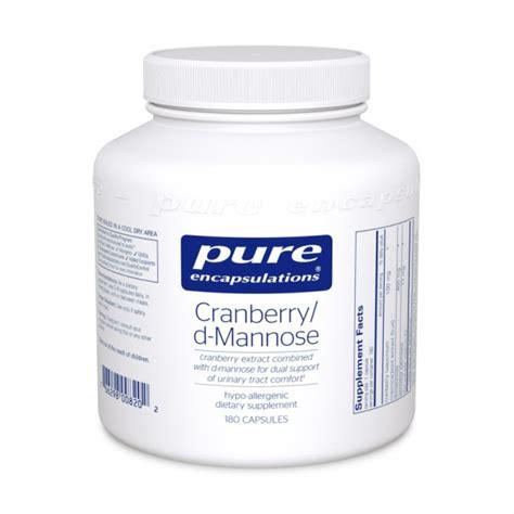 supplement d mannose cranberry d mannose