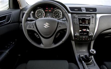 how cars run 2010 suzuki kizashi interior lighting 2010 suzuki kizashi first test motor trend