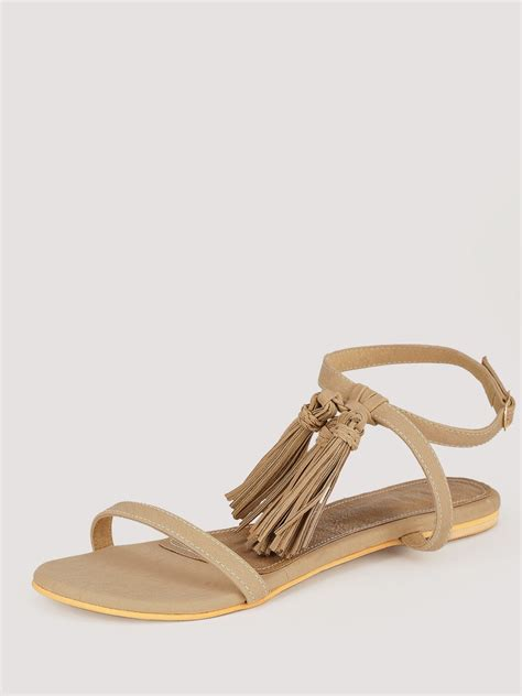 sandals with tassels buy cai flat sandals with tassels for s