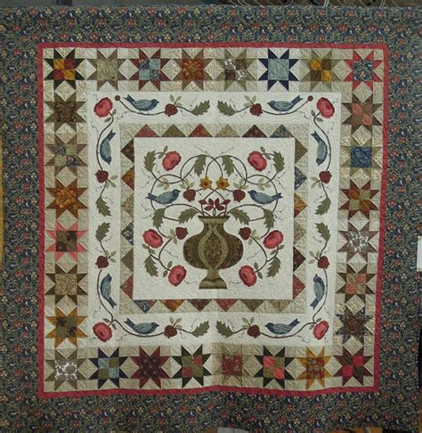 Medallion Quilts Free Patterns by Quilt Inspiration California Fall Quilt Show Part 1