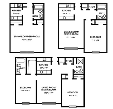 Apartment Database Design Small Two Bedroom Apartment Floor Plans Search